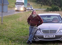 Man who lived in his car on the side of the road for 3 years is evicted